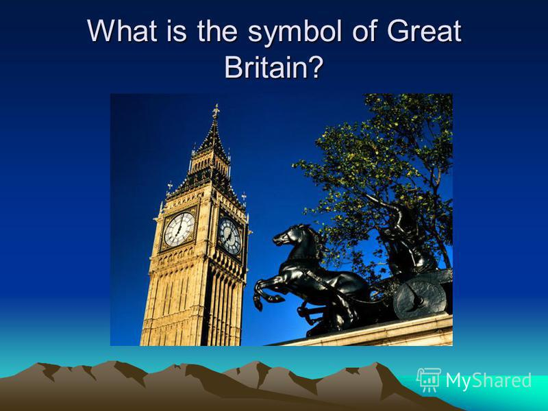 What is the symbol of Great Britain?