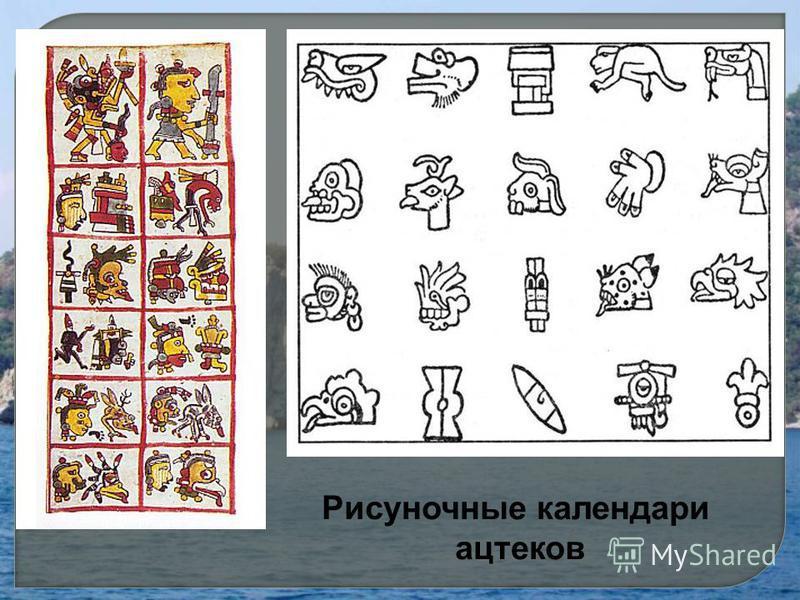 Рисуночные календари ацтеков