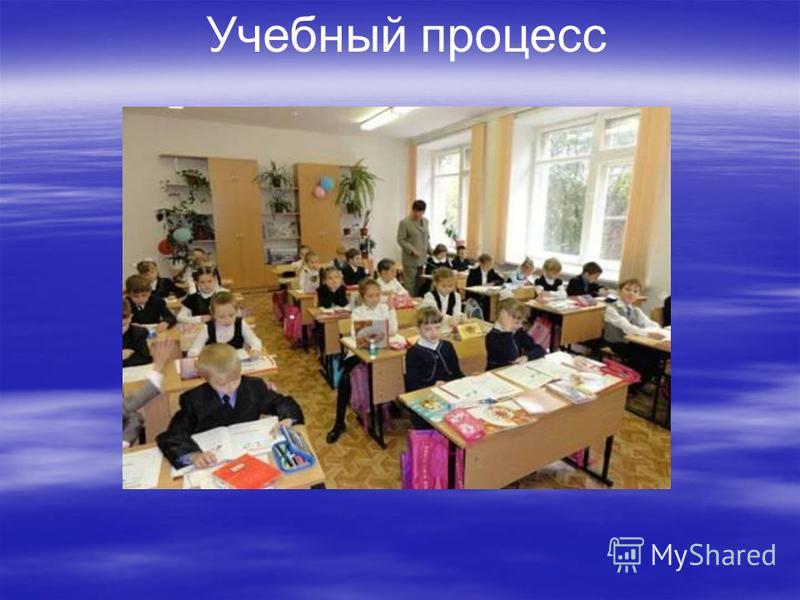 Учебный процесс