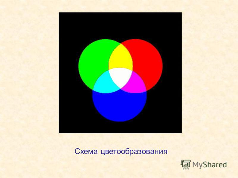 Схема цветообразования