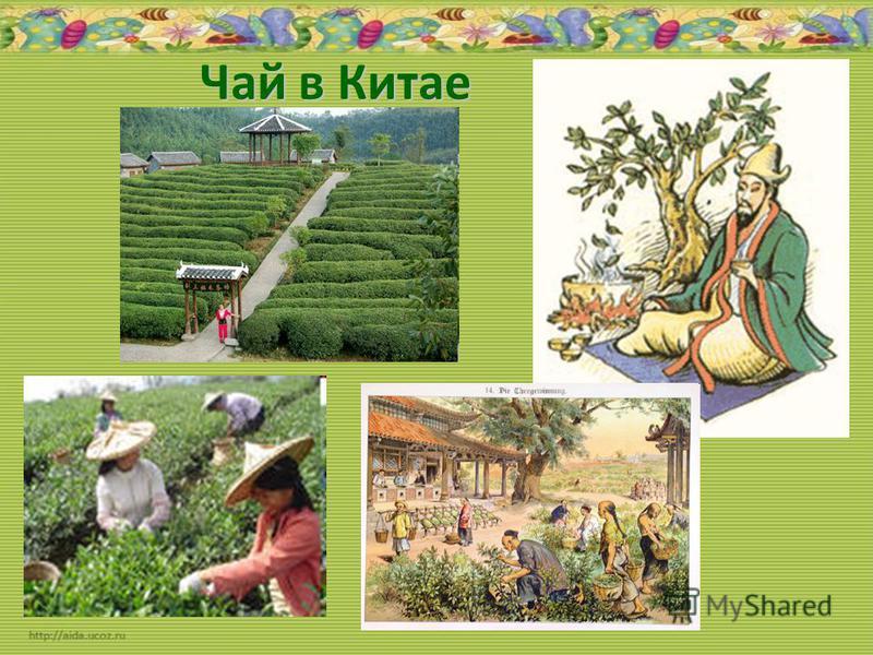 Чай в Китае