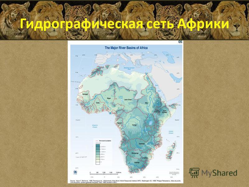 Гидрографическая сеть Африки