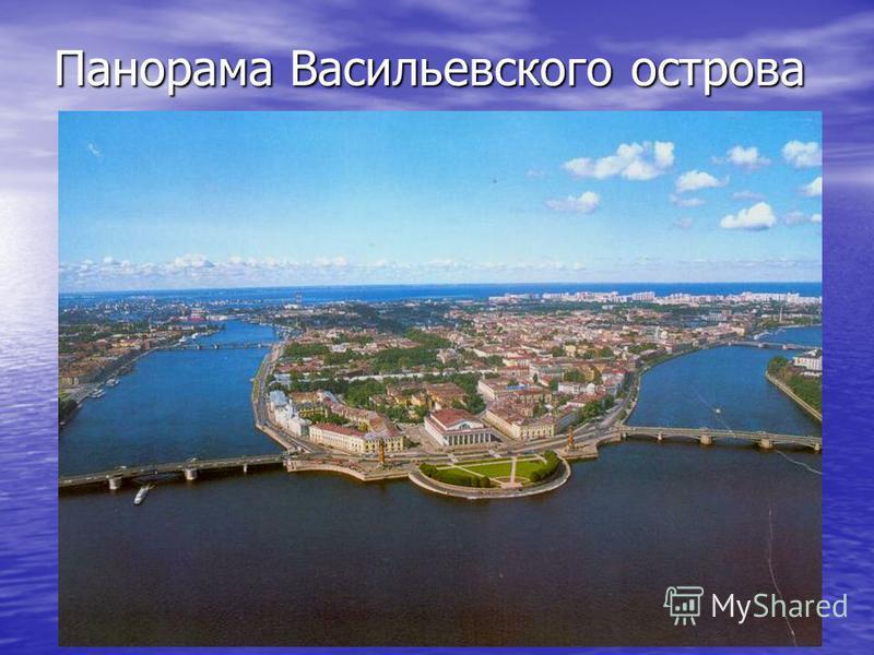 Панорама Васильевского острова