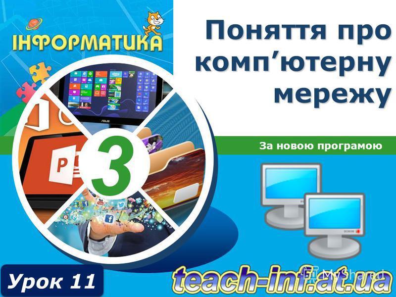 3 Поняття про компютерну мережу За новою програмою Урок 11