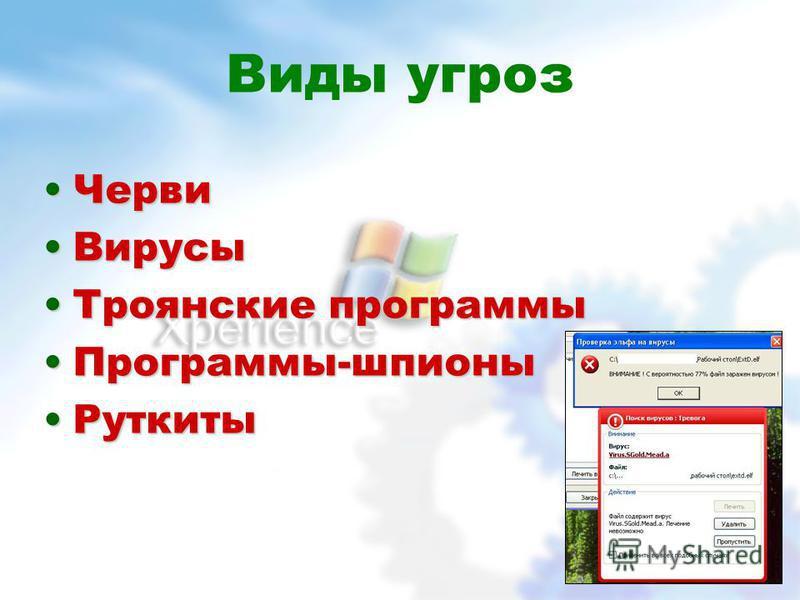 Антивирус Касперского для Windows Workstations защита файловой системы защита файловой системы защита электронной почты защита электронной почты дополнительная защита офисных приложений дополнительная защита офисных приложений дополнительная защита о