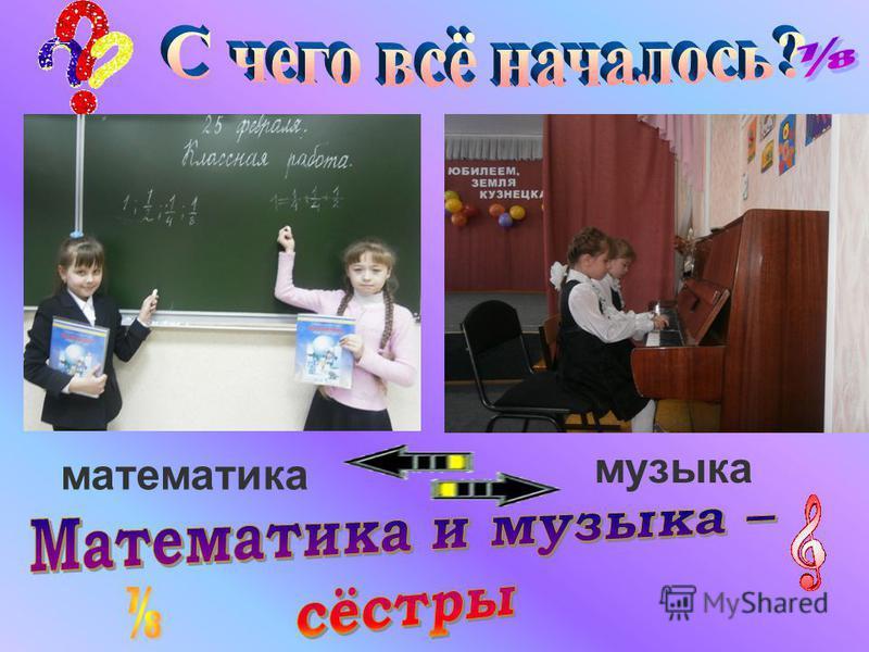 музыка математика