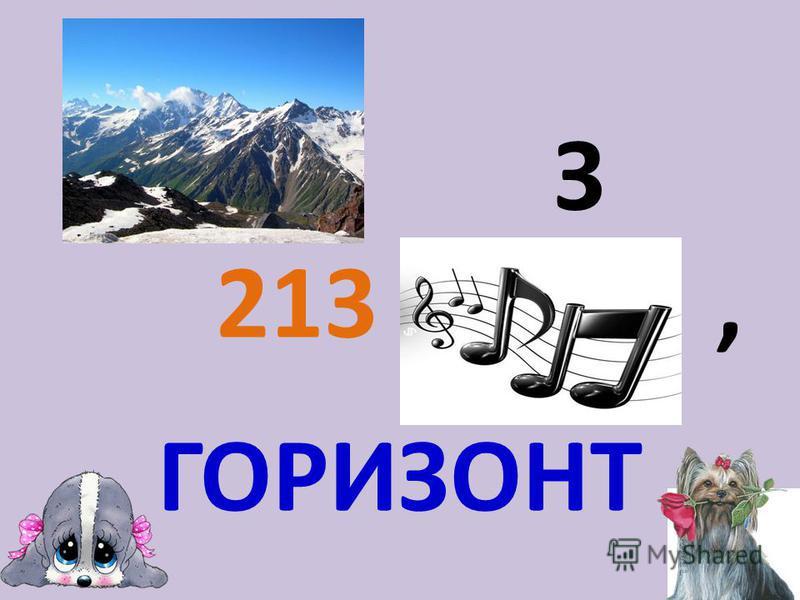 З 213, ГОРИЗОНТ