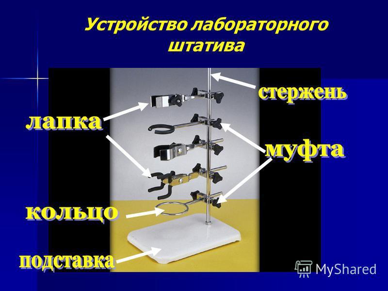 Устройство лабораторного штатива