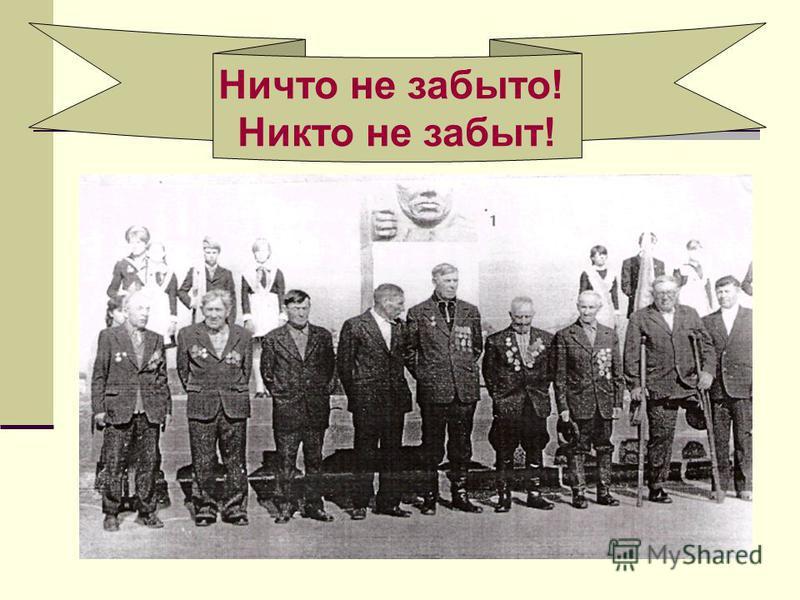 Памяти солдат и офицеров советской армии, павших на фронтах Великой Отечественной войны, посвящается!