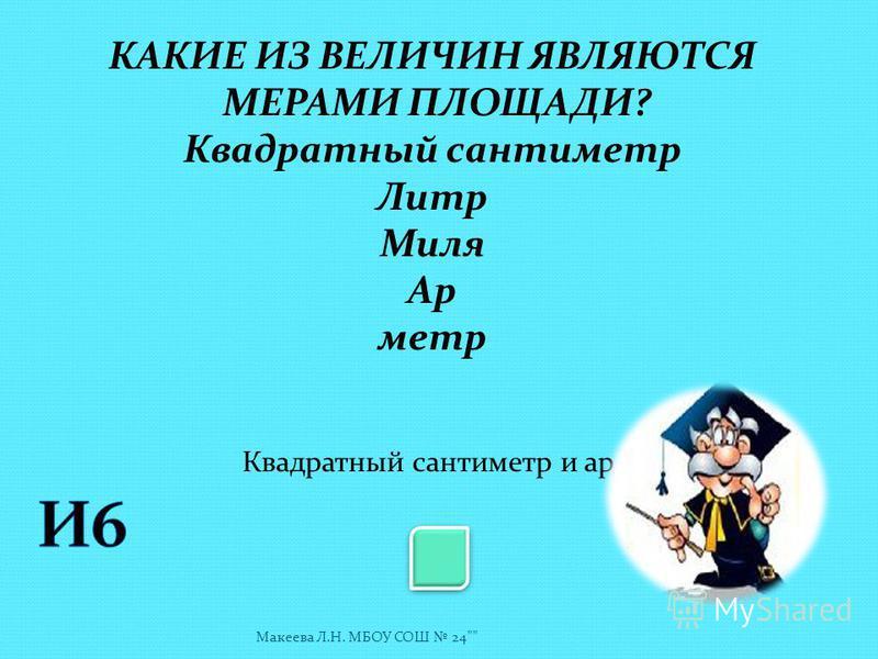 Назовите абсциссу точки А У 0 1 Х 3 Макеева Л.Н. МБОУ СОШ 24