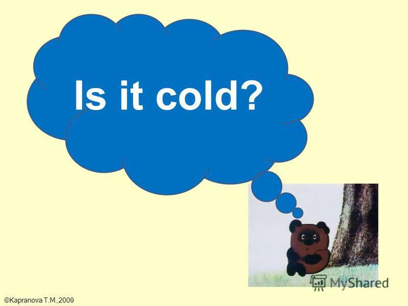 Is it cold? ©Kapranova T.M.,2009