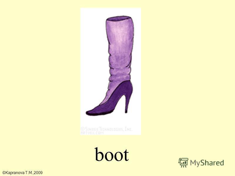 boot ©Kapranova T.M.,2009