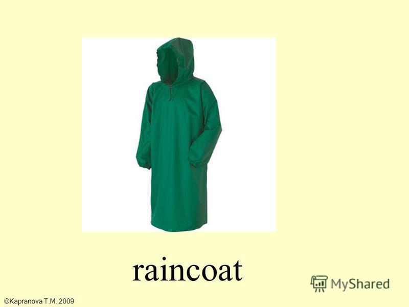 raincoat ©Kapranova T.M.,2009