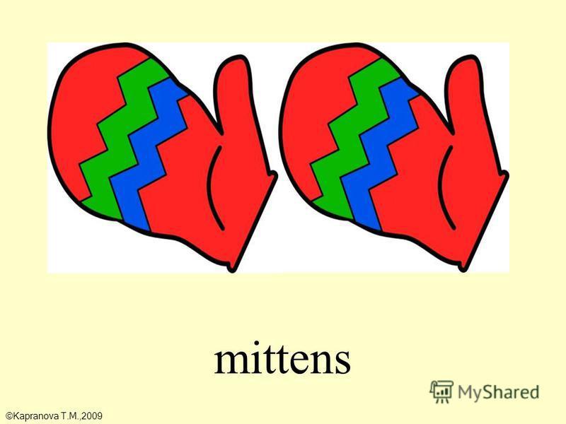 mittens ©Kapranova T.M.,2009