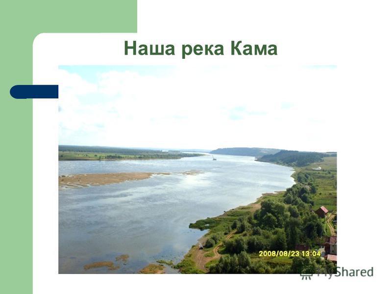 Наша река Кама