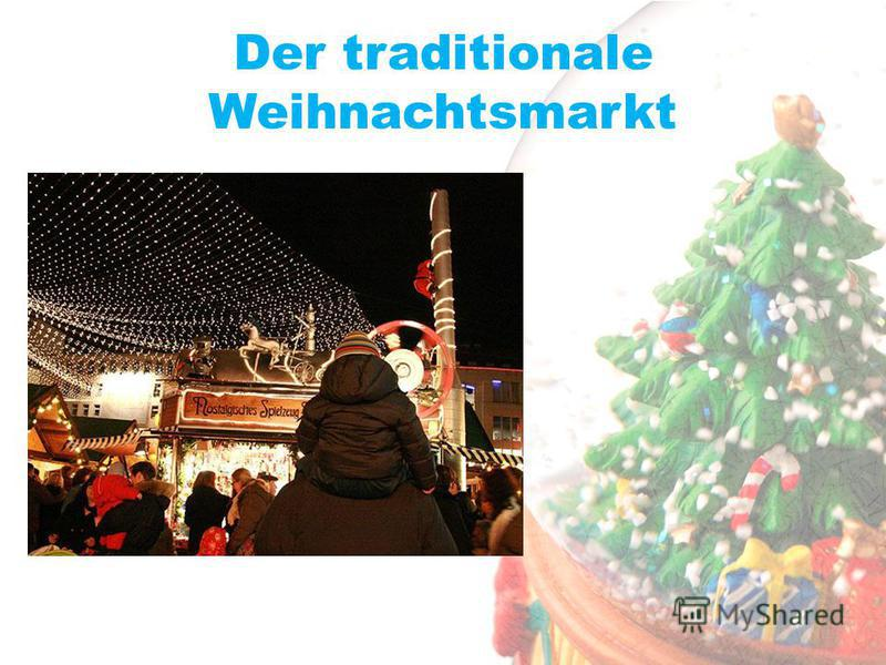 Der traditionale Weihnachtsmarkt