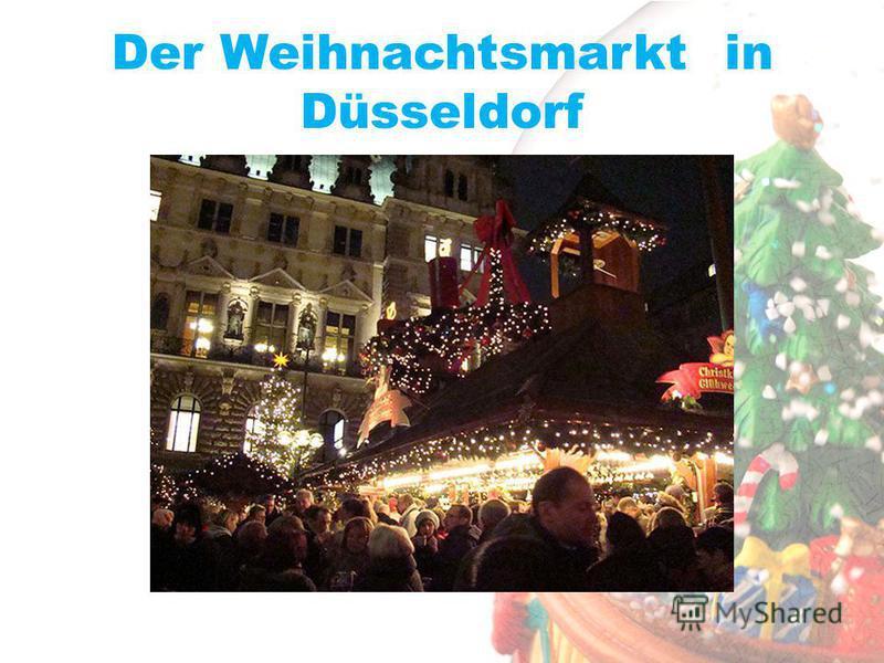 Der Weihnachtsmarkt in Düsseldorf
