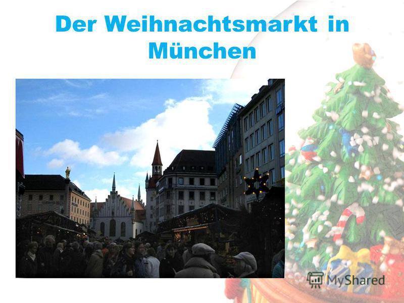 Der Weihnachtsmarkt in München