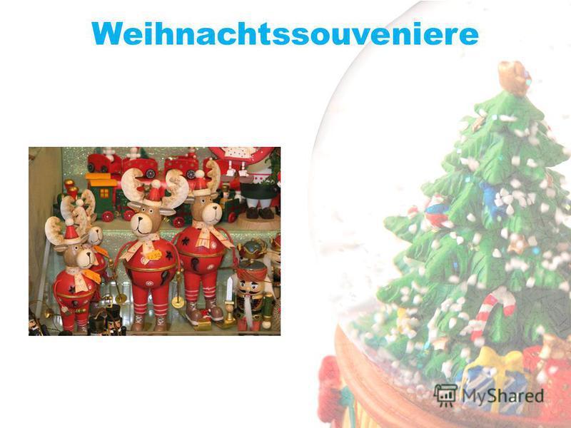 Weihnachtssouveniere