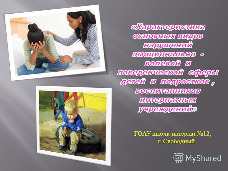 ГОАУ школа - интернат 12, г. Свободный