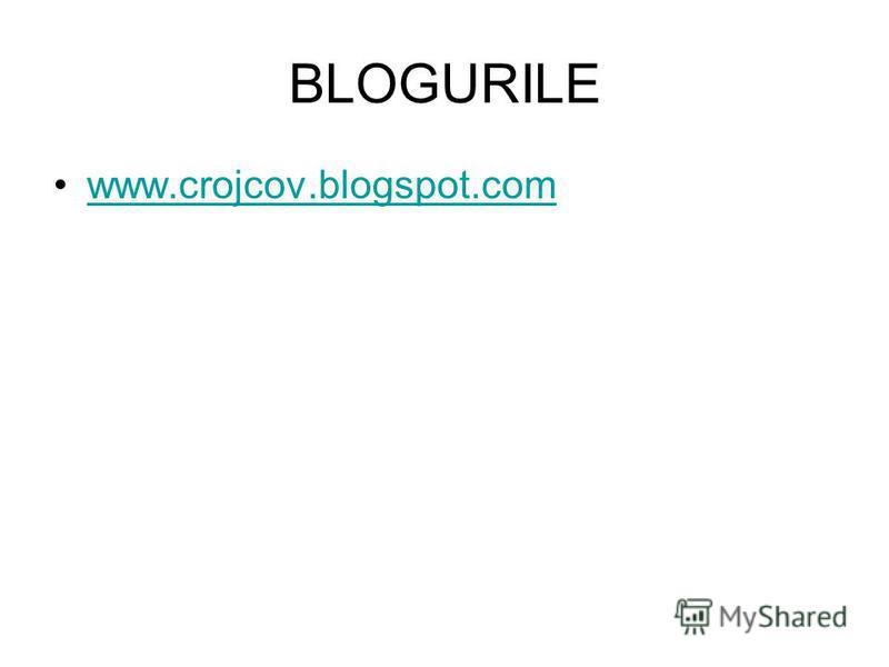 BLOGURILE www.crojcov.blogspot.comwww.crojcov.blogspot.com