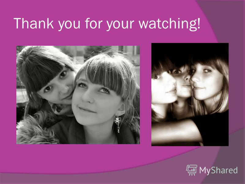 Thank you for your watching!