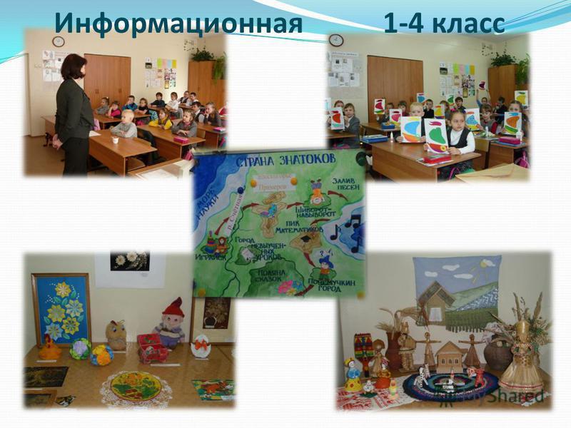 Информационная 1-4 класс