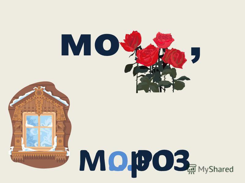 мо, М … РОЗ мороз