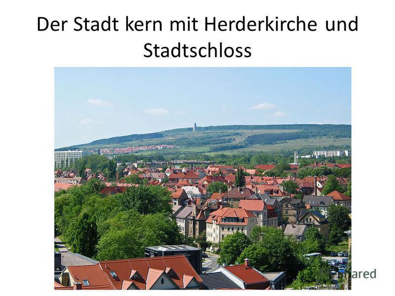 Der Stadt kern mit Herderkirche und Stadtschloss