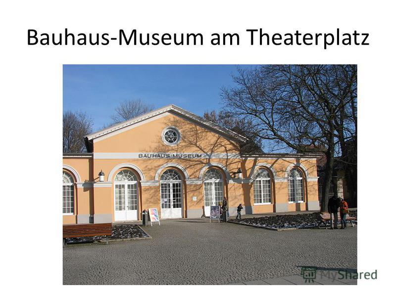 Bauhaus-Museum am Theaterplatz
