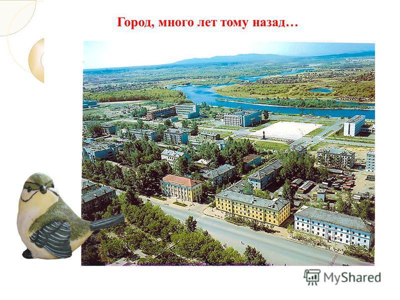 Город, много лет тому назад…