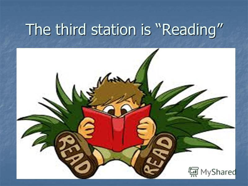 The third station is Reading