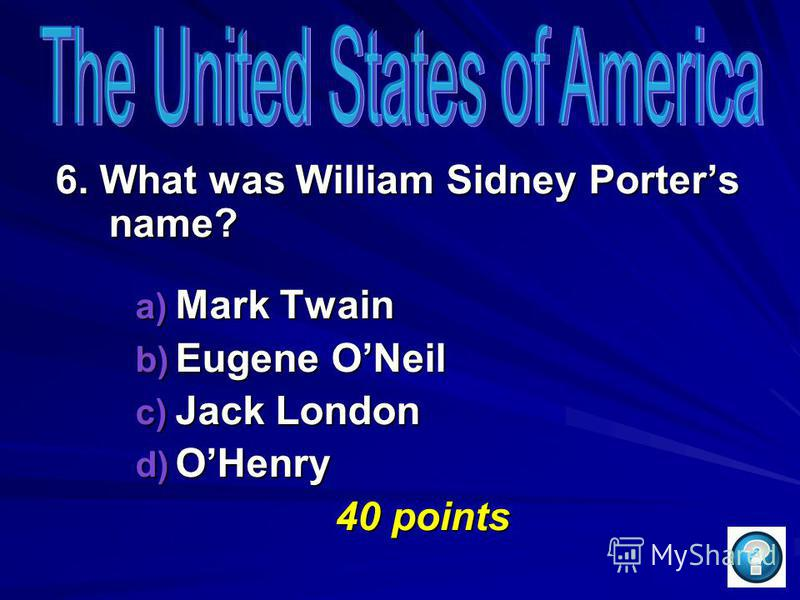 5. Which state in the USA is the biggest? a) Texas b) Colorado c) Tennessee d) Alaska 50 points 50 points