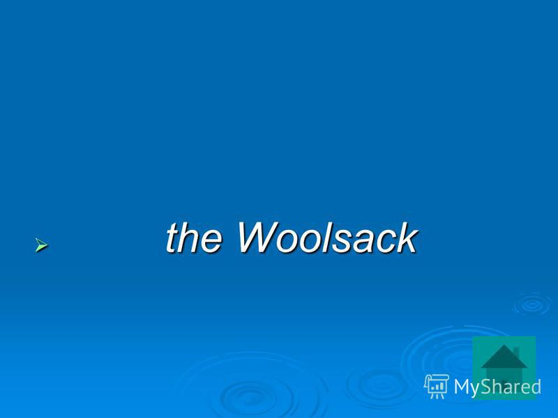 the Woolsack the Woolsack