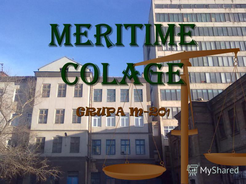 Meritime COLaGe GRUPA M-20 1