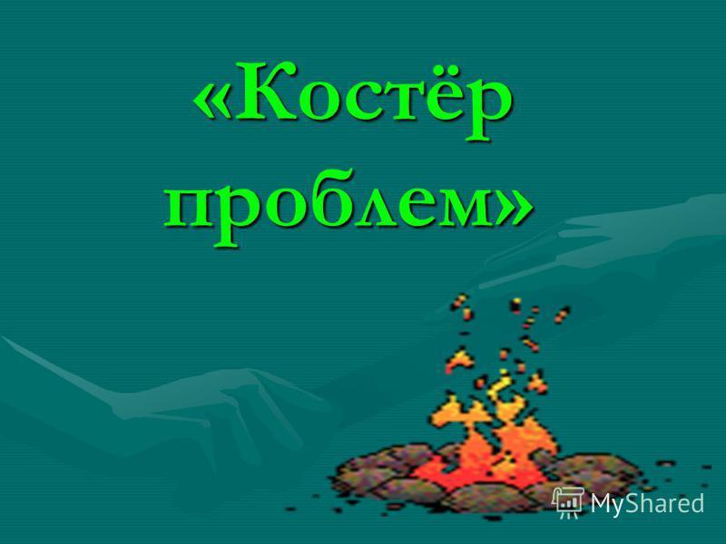 «Костёр проблем» «Костёр проблем»