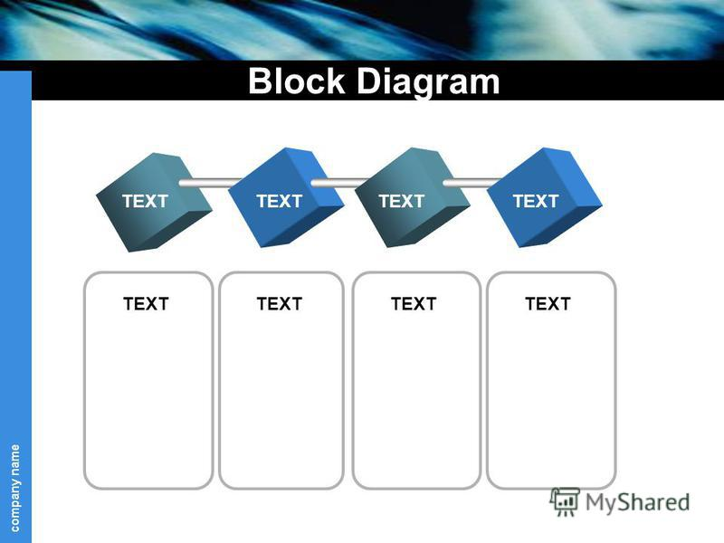 company name Block Diagram TEXT