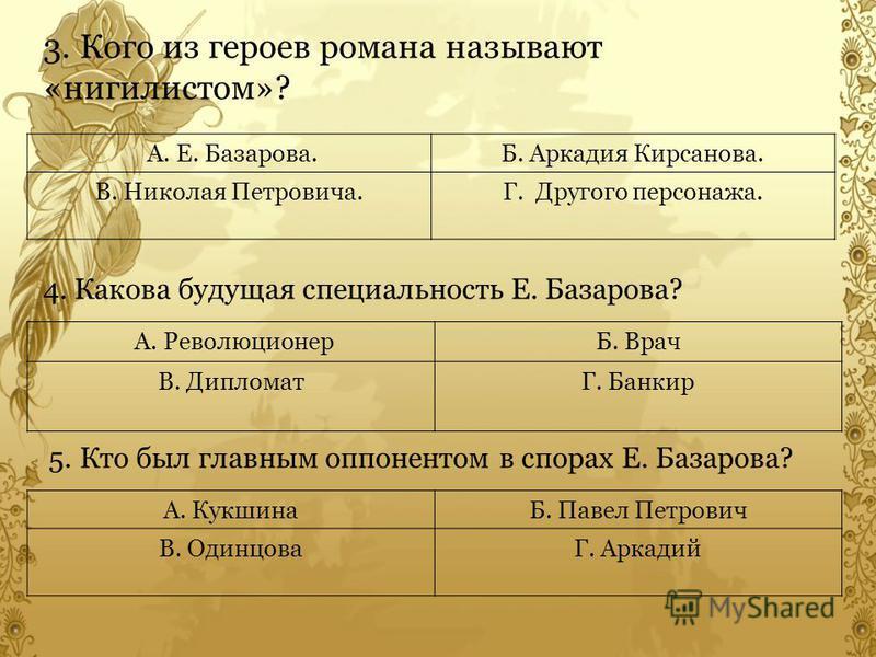 интересы и занятия дворянской молодежи по роману Алексей Владимирович