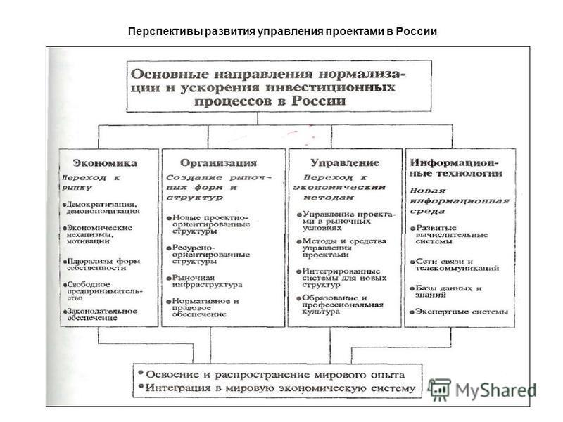 Перспективы развития управления проектами в России