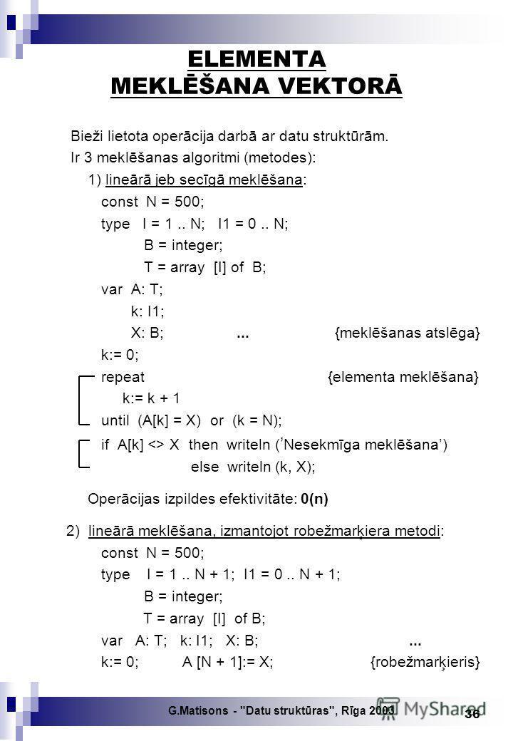 G.Matisons -