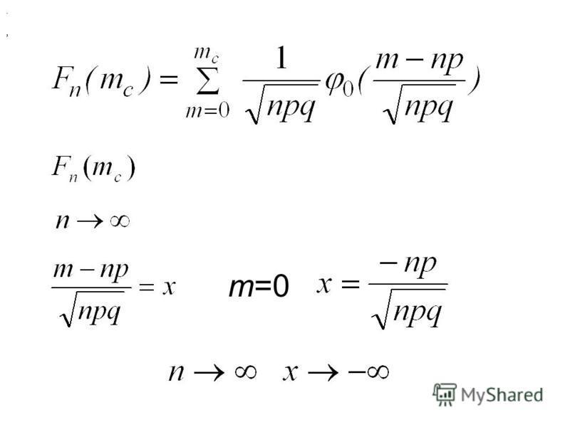 , m=0,.