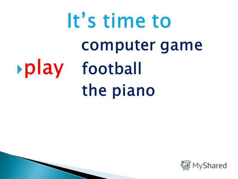computer game play football the piano