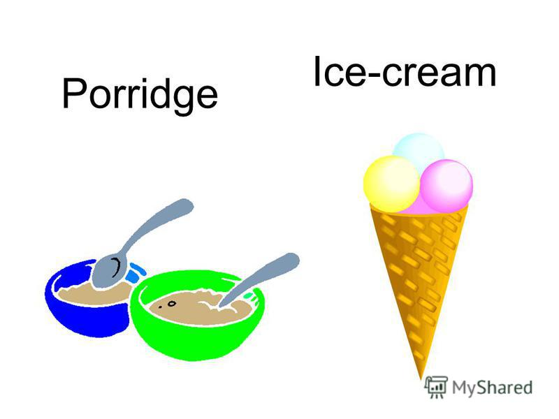 Porridge Ice-cream