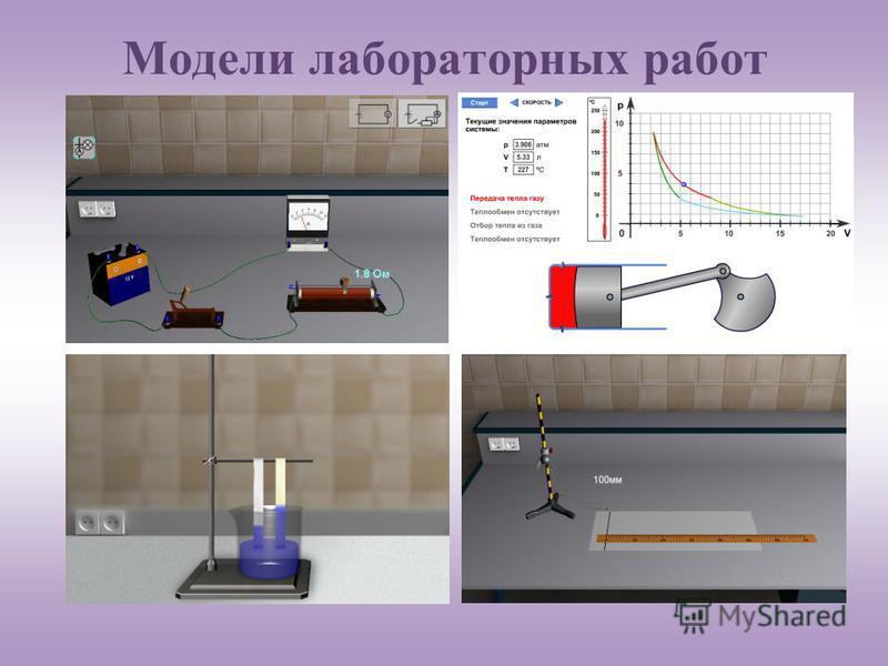 Модели лабораторных работ