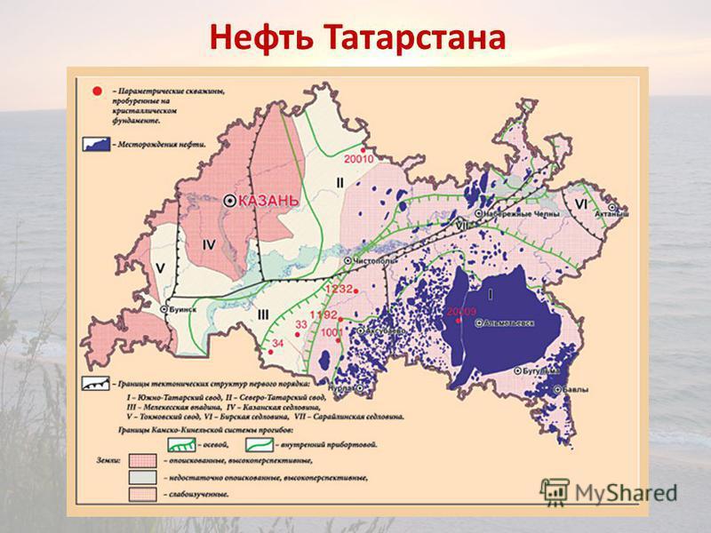 Нефть Татарстана