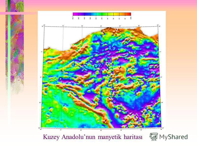 Kuzey Anadolunun manyetik haritası