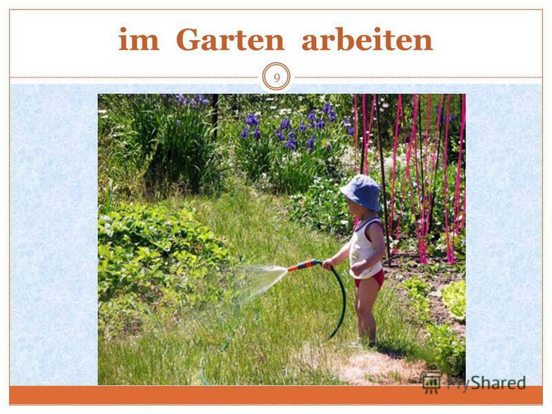 im Garten arbeiten 9