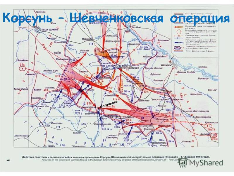 Корсунь – Шевченковская операция