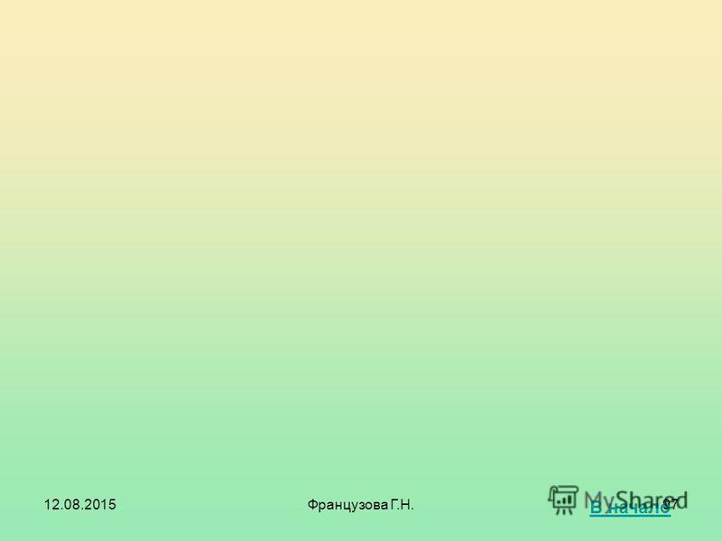 12.08.2015Французова Г.Н.96 Синхронизацию предпочтительно выполнять через основную реплику. Архивирование БД лучше свести к архивированию БД основной реплики. Вывод: управлять набором реплицируемых объектов и их структурой нужно из основной реплики.