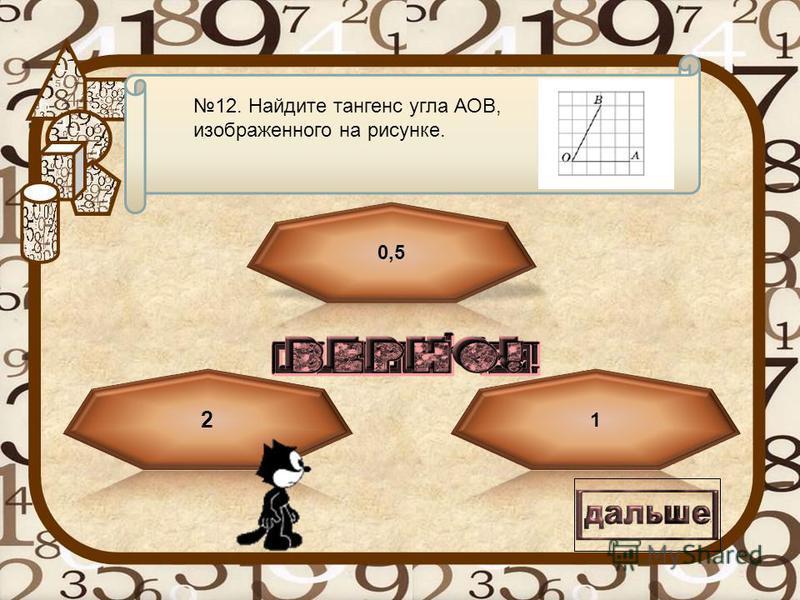 Текст вопроса 11. Найдите площадь трапеции, изображенной на рисунке.